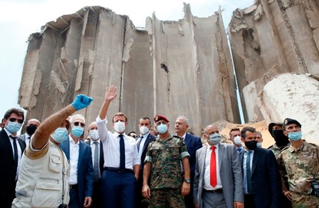 ماكرون يخطط لمؤتمر لدعم لبنان وصندوق النقد يبحث المساعدة