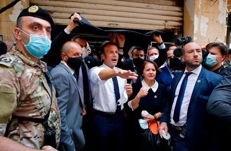 """ماكرون يدعو قوى لبنان لتجاوز مصالحها وتشكيل """"حكومة مؤهلة"""""""
