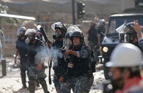واشنطن تؤيد احتجاجات بيروت وتدعو للابتعاد عن العنف