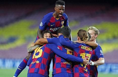 برشلونة يتجاوز عقبة نابولي في ليلة توهج ميسي