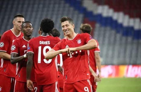 بايرن يتأهل ويضرب موعدا مع برشلونة في ربع نهائي الأبطال