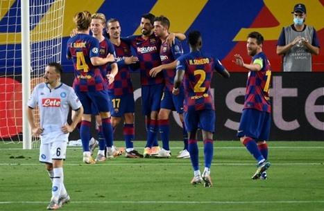 بعد أن هزم نابولي.. برشلونة يحقق رقما مميزا بدوري الأبطال