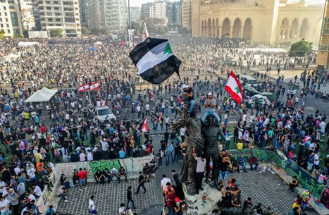 المجلس العربي: ما يحدث بلبنان لحظة فارقة في نضال الشعوب