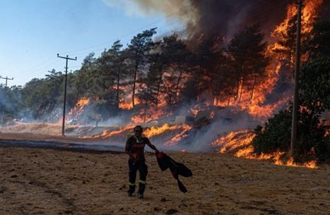 تركيا تواصل جهود إخماد الحرائق لليوم السابع على التوالي