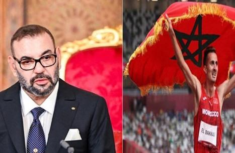 ملك المغرب يهنئ سفيان البقالي بعد تتويجه بالذهب بأولمبياد طوكيو