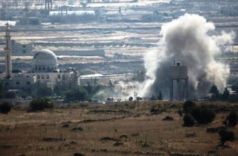 أنباء عن غارات إسرائيلية جديدة على مواقع للنظام بالقنيطرة