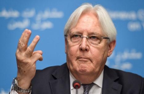 غريڤيث إلى الرياض لإقناع حكومة هادي بالمسودة الأممية للسلام