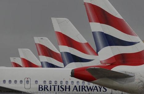 مقدمة طائرة بريطانية ترتطم بالأرض في هيثرو (فيديو)