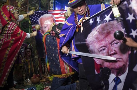 """بالبخور والزهور.. """"عرافون"""" يحاولون تحديد رئيس أمريكا المقبل"""