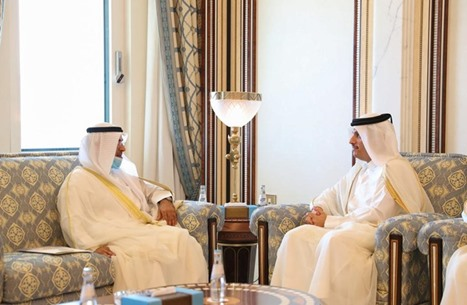 """أمين """"التعاون الخليجي"""" يصل الدوحة قادما من الرياض"""