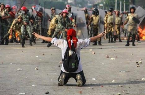 """دعوات بمصر لاستكمال التظاهر الاثنين و""""كسر حواجز الخوف"""""""