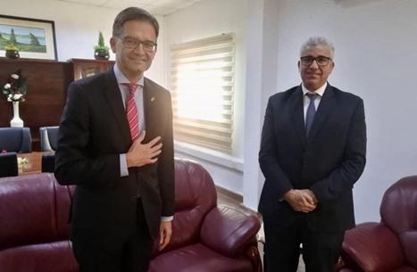 باشاغا يبجث مع سفير ألمانيا إبعاد المرتزقة الروس عن ليبيا