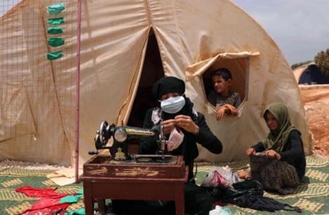 """""""الغارديان"""" تحذر من تفاقم كورونا بمخيمات اللاجئين بالشرق الأوسط"""