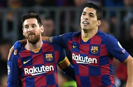 ميسي الحزين على رحيل صديقه سواريز يهاجم برشلونة