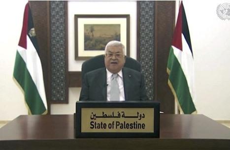عباس: المنظمة لم تفوض أحدا للحديث باسم الشعب الفلسطيني