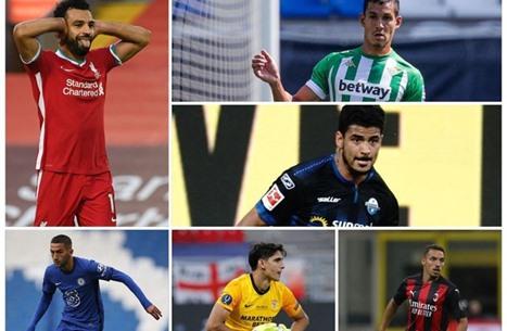 تعرّف إلى المحترفين العرب بالدوريات الأربع الكبرى.. 46 لاعبا