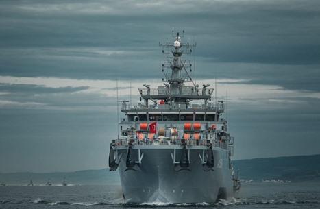 بحرية تركيا تطرد سفينة فرنسية برفقة فرقاطة يونانية.. تفاصيل