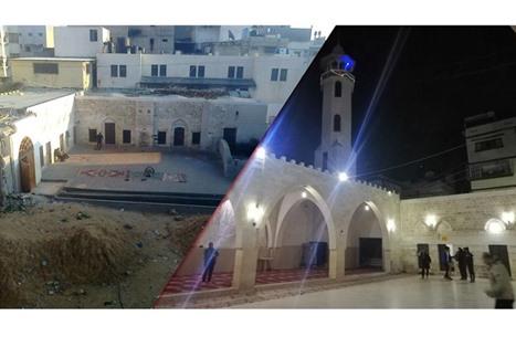 مسجد الظفر دمري الأثري منارة غزة القديمة وأول محطة للزائرين