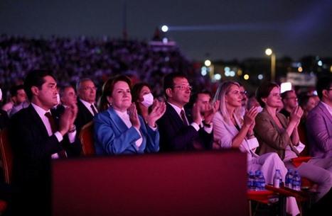 """ميرال أكشنار تشبه إمام أوغلو بـ""""الفاتح"""".. وأردوغان يرد"""