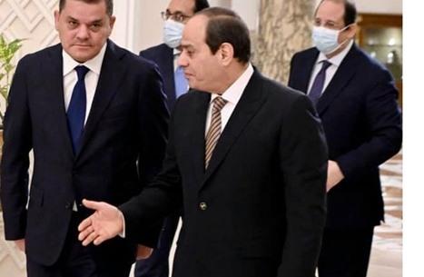 ما هدف إشادة السيسي بحكومة الدبيبة بعد لقائه حفتر وعقيلة؟