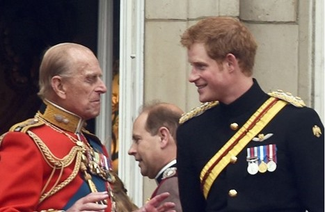 الأمير هاري يكشف عن كلمات من جده قبل ذهابه لأفغانستان