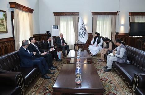 وزير خارجية حكومة طالبان يستقبل سفير تركيا.. هذا ما بحثاه