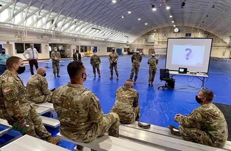 أنباء متضاربة عن إطلاق نار داخل قاعدة عسكرية قرب واشنطن