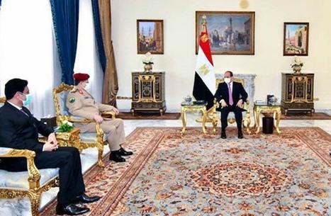 تساؤلات عن دلالات زيارة وزير الدفاع اليمني إلى القاهرة