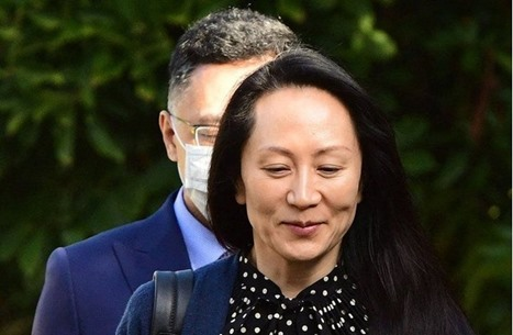 """المديرة المالية لـ""""هواوي"""" تغادر كندا بعيد إطلاق سراحها"""