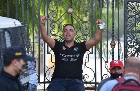 محكمة تونسية تصدر بطاقة إيداع بالسجن بحق النائب مخلوف