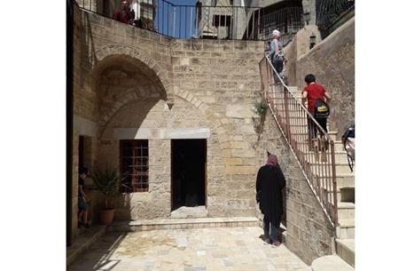 """""""بيت العلمي"""" الأثري شاهد على ازدهار العمارة الإسلامية في غزة"""