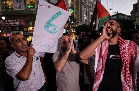 وقفات بالضفة الغربية تضامنا مع الأسرى في سجون الاحتلال