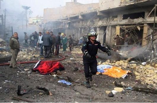 مقتل 16 شخصاً بتفجيرات متفرقة بالعراق