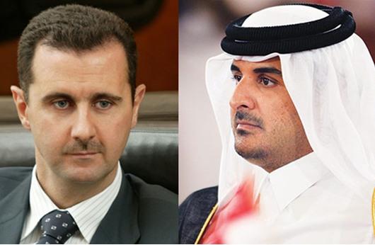 السلطة الفلسطينية تنفي نقل رسالة من أمير قطر الى الأسد