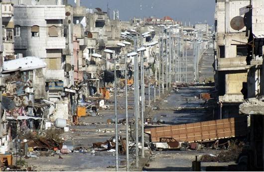 """الأوبزرفر:""""حمص ...قصة مدينتين"""""""