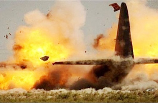 قتيل وثلاثة جرحى في سقوط طائرة عسكرية مصرية