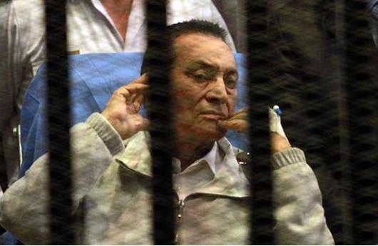 مرافعة رئاسية لمبارك يعدد فيها انجازاته