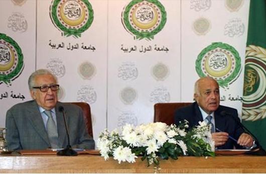 """الإبراهيمي يلتقي العربي لبحث الترتيب لـ""""جنيف 2"""""""