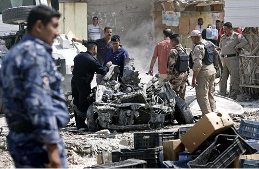 مقتل 7 عراقيين معظمهم من الشرطة بتفجير غرب الرمادي