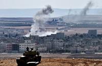 """""""تنظيم الدولة"""" يتقدم في كوباني ويسيطر على تل شعير"""