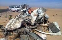27 قتيلا و18 مصابا في حادث سير بأسوان جنوبي مصر
