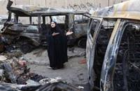 مقتل 22 شخصا على الأقل في ثلاثة تفجيرات في بغداد