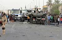 12 قتيلا بانفجار أربع سيارات مفخخة في بغداد وجنوبها