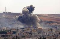 مقتل 21 مدنيا كرديا في كوباني منذ بدء المعارك