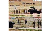 مقاتلان من داعش وجها لوجه أمام الجيش التركي
