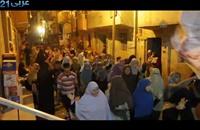 مسيرة ليلية لمؤيدي مرسي في الجيزة (فيديو)