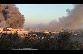قصف عنيف للمقاتلات الروسية على مواقع للمعارضة بسوريا