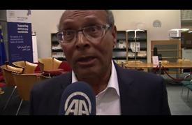 المرزوقي: الفقر والبطالة والظلم الاجتماعي يهددون ديمقراطية تونس