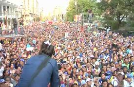"""اعتقال المعارض الفنزويلي """"مانويل روساليس"""" فور عودته من المنفى"""