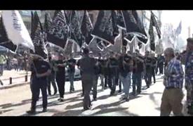 مسيرة في لبنان تندد بالتدخل العسكري الروسي في سوريا